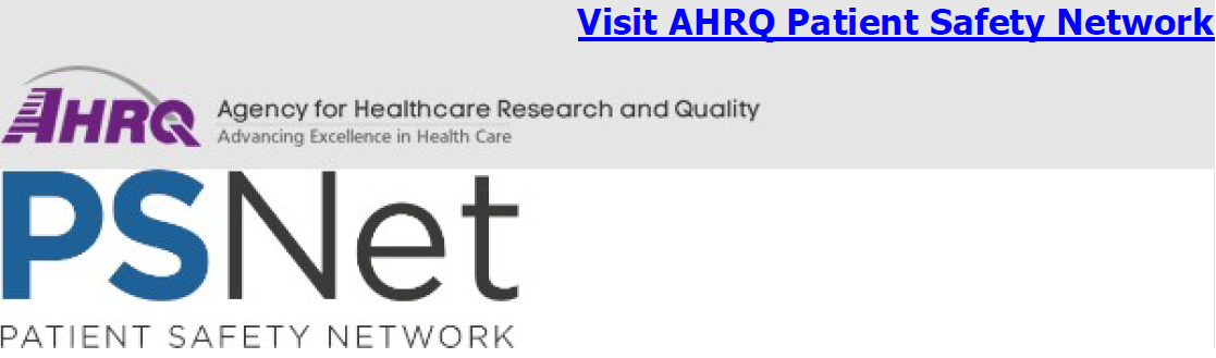 Agency for Healthcare Research and Quality