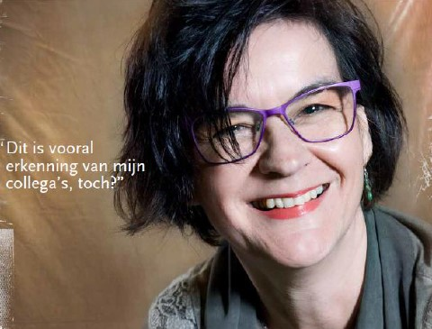 Petra Reijnders, winnares van De MAASTRO CLINIC Award 2016